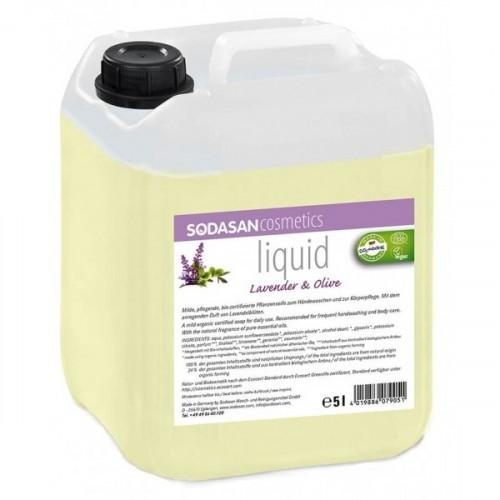 Sodasan Sıvı Sabun Lavantalı 5 lt