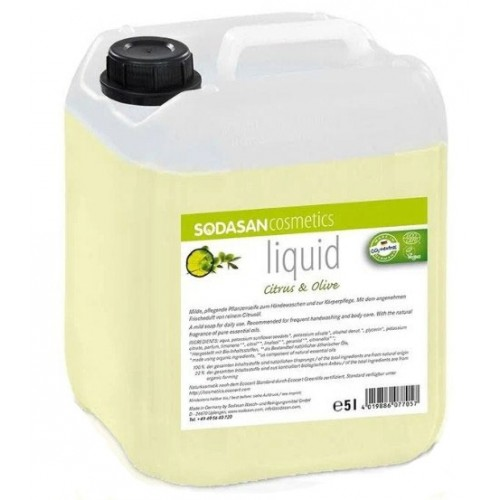 Sodasan Sıvı Sabun Limonlu 5 lt