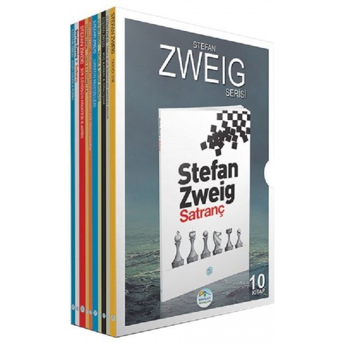 Stefan Zweig Seti 10 Kitap (Set-1 Kutusuz) - Stefan Zweig