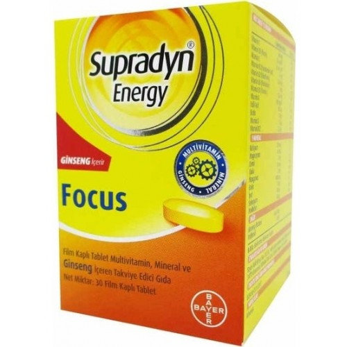 Supradyn Energy Focus 30 Tablet