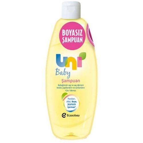 Uni Baby Boyasız Saç ve Vücut Şampuanı Pompasız 750 ml