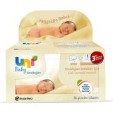 Uni Baby Yenidoğan Islak Mendil 3'lü Paket (120 Yaprak)