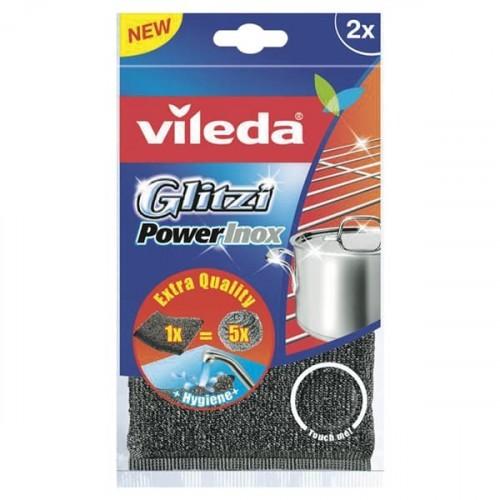 Vileda Glitzi Power Inox Pad 2 li