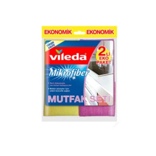 Vileda Mikrofiber Mutfak Bezi 2 li