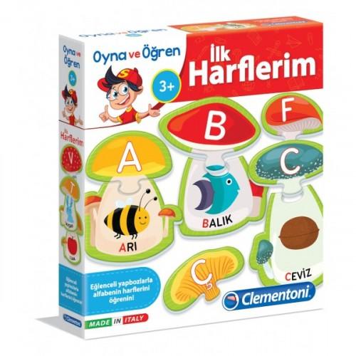 Clementoni Oyna ve Öğren İlk Harflerim 64429