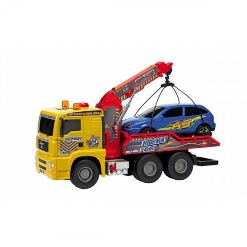 Dickie Toys Hava Pompalı Çekici Kamyon 55 cm 203809001