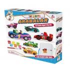 Gepet Toys Alçı Buzdolabı Magneti ve Boya Seti - Arabalar