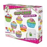Gepet Toys Alçı Buzdolabı Magneti ve Boya Seti-Cupcake