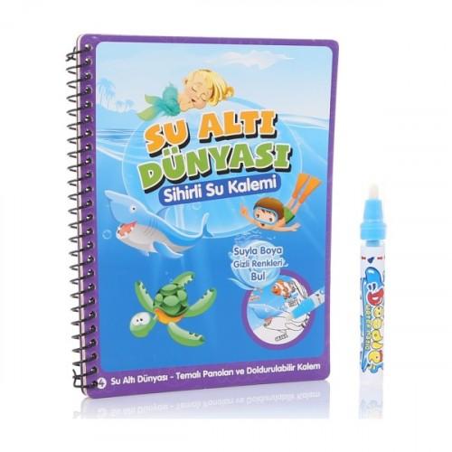 Gepet Toys Su Altı Dünyası Sihirli Boyama Kalemi