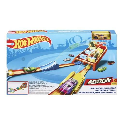 Hot Wheels Yüksek Atlayış Yarış Seti GBF89
