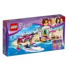 Lego Friends Andrea'nın Sürat Teknesi Römorku 41316