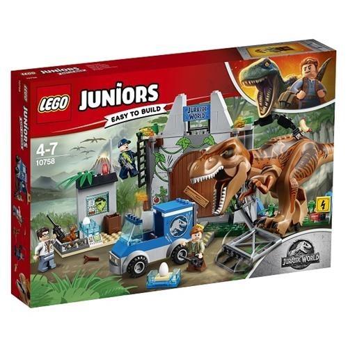 Lego Juniors T-rex Kaçışı 10758