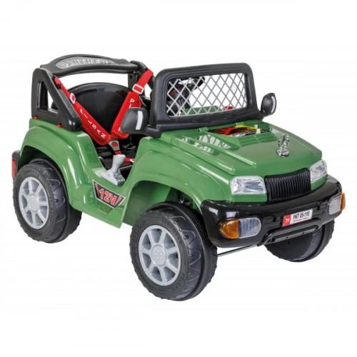 Pilsan Panther 12V Uzaktan Kumandalı Akülü Araba-Yeşil