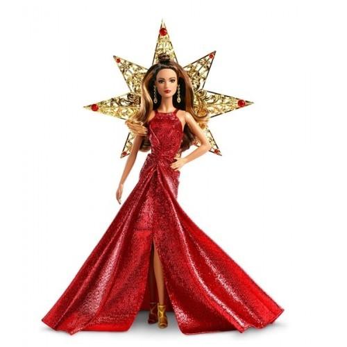 Barbie 2017 Mutlu Yıllar Bebeği Kumral Dyx41