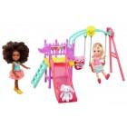 Barbie Chelsea ve Arkadaşı Oyun Parkında FTF93