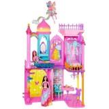 Barbie Gökkuşağı Krallığı Şatosu Oyun Seti Dpy39