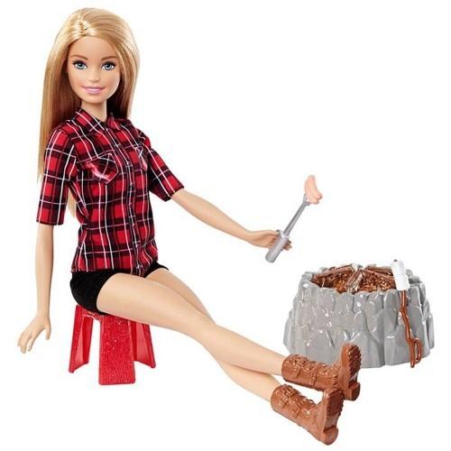 Barbie Kampa Giden Barbie FDB43