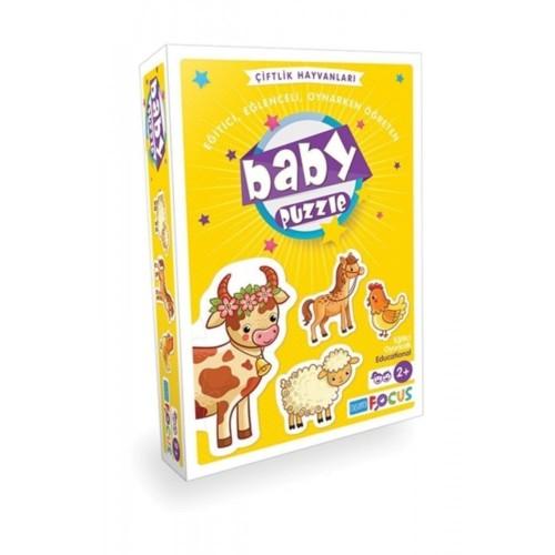 Blue Focus Yayınları Baby Puzzle -Çiftlik Hayvanları BF157
