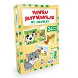 Blue Focus Yayınları -Yavru Hayvanlar ve Anneler Puzzle BF152