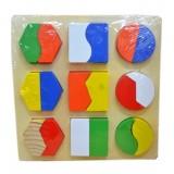 Can Oyuncak Ahşap Puzzle Cn-18
