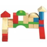 Classic World Ahşap 50 Parça Bloklar 2073