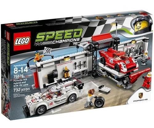Lego Speed Champions Porsche 919 Hybrid 75876