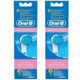 Oral-B EB17 Sensitive Clean Diş Fırçası Yedeği 2 li X 2 Adet