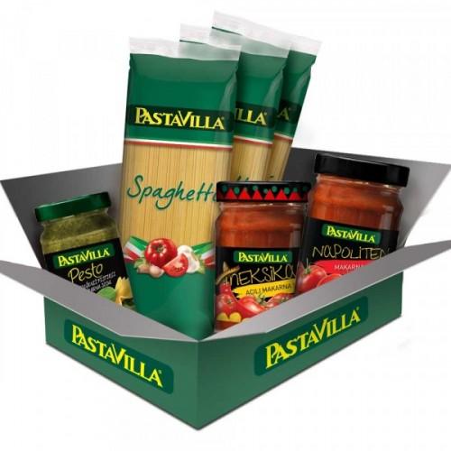 Pastavilla 3'lü Sos Paketi + Pastavilla Makarna Hediye
