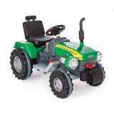 Pilsan 12 V Akülü Süper Traktör- Yeşil 05-210