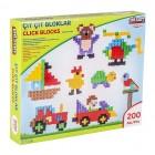 Pilsan Çıtçıt Bloklar 200 Parça 03-296