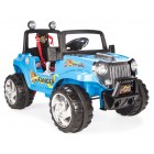 Pilsan Ranger Akülü Araba 12 Volt (Uzaktan Kumandalı) Mavi