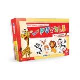 Blue Focus Yayınları Bebek Puzzle - Hayvanlar