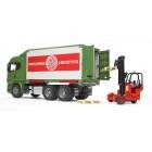 Bruder -Scania R-Serisi Konteynır  Forklift - 03580