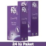 Fe Crowling Üçlü Zevk Prezervatif 12 li x 2 Adet