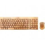 Goldmaster BKM-975 Bambu Klavye - Mouse Seti