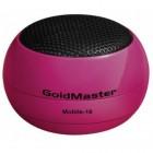 Goldmaster Mobile-10 Mini Cep Hoparlör (Pembe)