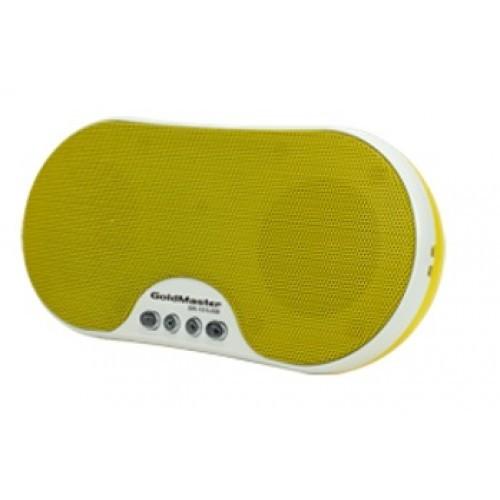Goldmaster SR-151 USB Taşınabilir Hoparlörlü Radyolu Oynatıcı (Sarı)