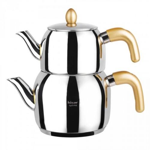 Hisar Bakü Çaydanlık Takımı Gold