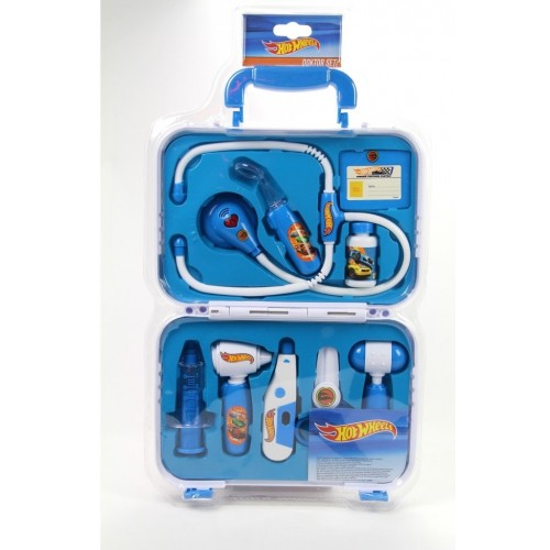 Hot Wheels Çantalı 9 Parça Doktor Seti N338B/9902