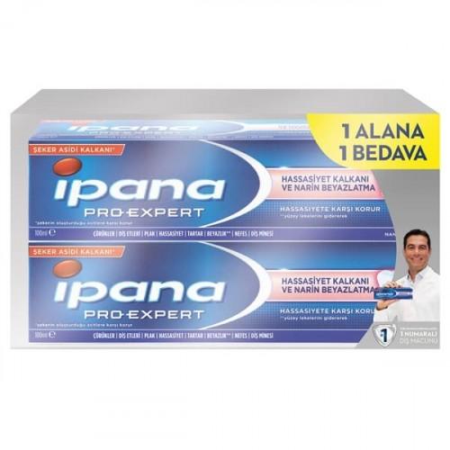 İpana Diş Macunu Hassasiyet Kalkanı Nane 100 ml (2 li Paket)