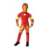 Ironman Çocuk Kostümü 00721 10-12 Yas