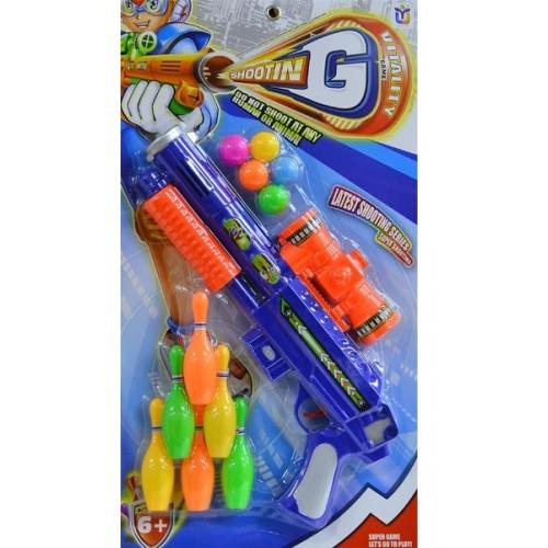 Kızılkaya Oyuncak Bowlingli Tüfek 648B