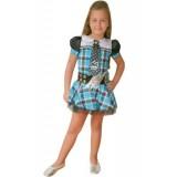 Monster High Frankie Çocuk Kostümü 00523 7-9 Yas
