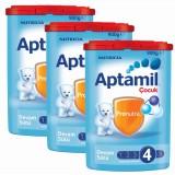 Aptamil 4 Çocuk Devam Sütü 900 gr x 3 Adet