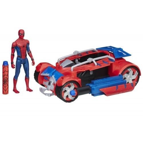 Spiderman Film Figür ve Örümcek Araç B9703