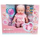 Sunman Boubou Sesli Işıklı Oturaklı Bebek Set 976