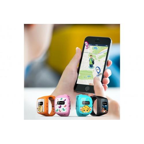 Superkids Akıllı Çocuk Telefonu ve Çocuk Güvenlik Saati - Turkuaz