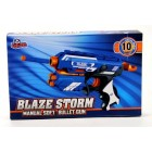 Vardem Oyuncak Blaze Storm Sünger Mermili Tabanca (10 Adet Mermi)