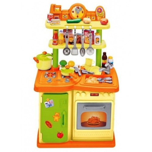 Vardem Oyuncak Masalı 30 Parça Mutfak Set (Fırın Ve Buzdolabı) 22920