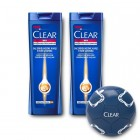 Clear Men Anti-Hairloss Şampuan 550 ml x 2 Adet (Top Hediyeli)